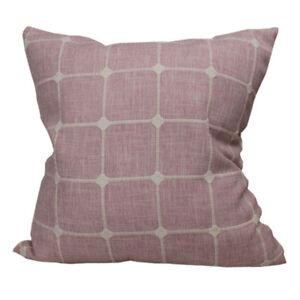CURCYA Jacquard Plaid Throw Pillow Covers Home Decorative Sofa Cushion Cases