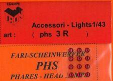 Accessori 1/43 FARI ROSSI 3mm  TRON   PHS3R