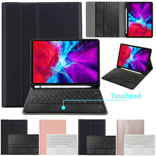 """For iPad Pro 11"""" 2nd Gen 2020 Touchpad Keyboard Leather Case Cover w/Pencil Slot"""
