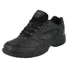 Calzado de hombre en color principal negro sintético talla 44