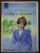 Celia's House by D.E.Stevenson – audio book read by Lesley Mackie - unabridged