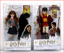 LOT 2 - Harry Potter Collector Figures Doll HARRY Potter Quiddith +  HERMIONE