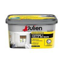 PEINTURE SOUS COUCHE SALLE BAINS CUISINE ANTI CONDENSATION MOISISSURES JULIEN 2L
