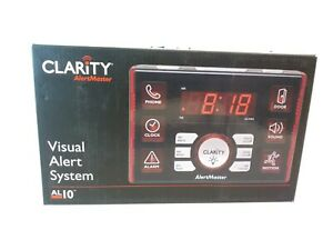 Clarity 52510.000 Visual Alert System 10 Home Notification System