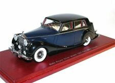 TSM MODEL - 1952 Rolls Royce Silver Wraith Park Ward Saloon Blue/Black - 1/43