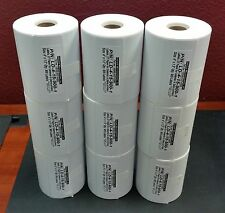 "9 Rolls Direct Thermal 4"" x 1.5"" Labels,1"" core for 4"" Wide Small Label Printers"