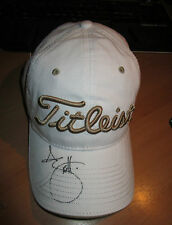 ADAM SCOTT HAND SIGNED TITLIEST GOLF CAP + PHOTO PROOF C.O.A