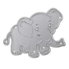 HOT Elephant Metal Cutting Dies Stencil DIY Album Scrapbooking Paper Card Craft