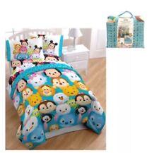 Disney Tsum Tsum Bed in a Bag, Reversible 4 Pc Bedding Set, w/Bonus Tote, Twin