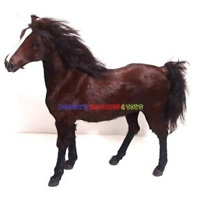 """1/6 Scale War Horse (3 Colour) w/o Saddle For 12"""" Action Figures WWII Dragon"""