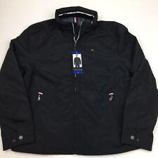 12798177 Tommy Hilfiger Cotton Blend Black Coats & Jackets for Men for sale ...