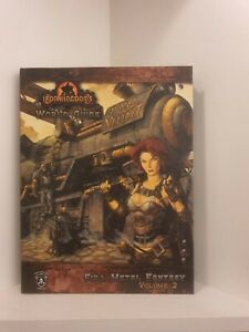 Iron Kingdoms: World Guide, Full Metal Fantasy Vol.2, Privateer Press, Hardcover