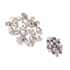 20x Skull Shape Rivets Studs Button for Leather Belt Bag Shoes 14mm Silver