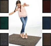 Premium Non-Slip Rug Floor Door Barrier Mat Carpet Runner Hallway Dirt Grabber