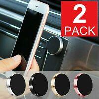 2X Universal Car Baseus magnetic Phone Mount Stands holder Pink, Black Silver