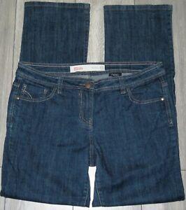 Womens🦋NEXT🦋blue stretch SLIM leg denim jeans size 16L
