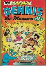 "UK - ""From The Beano"" Dennis The Menace 1983 - DC Thomson Hardcover ""NICE COPY"""