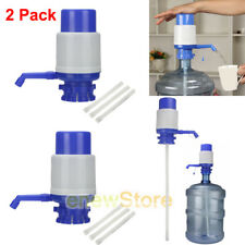 2X 5&6 Gallon Hand Pump for Water Bottle Jug Manual Drinking Tap Spigot Camping