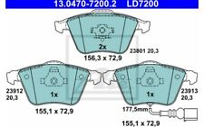 ATE Juego de 4 pastillas freno delantero Antes para SEAT LEON 13.0470-7200.2