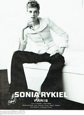 PUBLICITE ADVERTISING 126  1996  Sonia Rykiel  ahute couture  Mario Testino