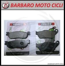 KIT 2 COPPIE PASTIGLIE FRENO FERODO ANT + POST YAMAHA X MAX XMAX X-MAX 250 2008