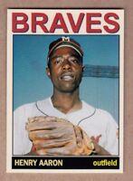 Hank Aaron '57 Milwaukee Braves Monarch Corona Private Stock #1