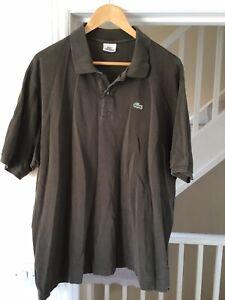 Mens Lacoste Polo Shirt - 9 - Khaki