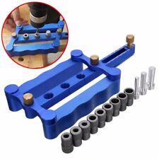 6/8/10mm Self Centering Dowelling Jig Metric Dowel Drilling Woodworking Tool Set
