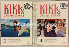 Kiki's Delivery Service manga volumes 1-4 english paperback film graphic novel