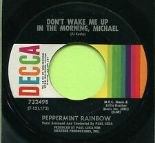 PEPPERMINT RAINBOW (Don't Wake Me Up / Rosemary)   ROCK 45 RPM  RECORD
