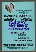 "PATRICK CARGILL. ""Some of My Best Friends are Husbands"" Brighton 1976  a.77"