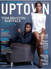 Uptown Magazine December 2013 Cover Baby Face Toni Braxton BabyFace
