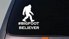Bigfoot Believer Decal Yeti Sasquatch Funny Sticker Car Truck 4x4 Suv *D686*