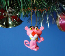 Home Party Decoration Xmas Ornament Tree Decor Pink Panther Cartoon *N3