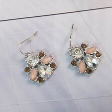 NEW @ Signature Anthropolo​​gie Aerina Queen Bee Light Pink Art Deco Earring