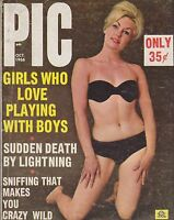Vintage cheesecake -  pinup digest magazine #070 - OCT 1966 PIC