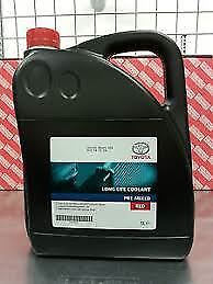 Genuine Toyota Red Coolant Antifreeze 5 L Pre Mixed