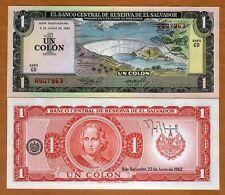 El Salvador, 1 Colone, 1982, P-133A, UNC > Columbus, Pre-USD$