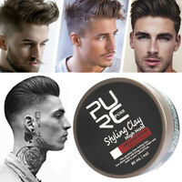 Men's Cement Clay Hair Styling Wax Strong Hold Barber Styling Pomade Hot 80ml db