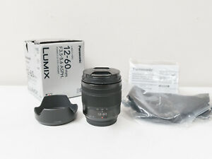 Panasonic 12-60mm F3.5-5.6 Power O.I.S. Lumix Lens for GH5 GX85 G9... ~Excellent