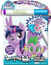 NEW 24pg My Little Pony: The Movie Imagine Ink Magic Pictures Activity Book