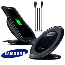 Genuine Samsung Wireless Fast Charger For Galaxy S8 S7 S6 Note 7/5 iphone8 X