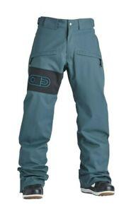 Snowboard Ski Pant Trousers Mens Large Airblaster Hip Bag Pant Night Spruce