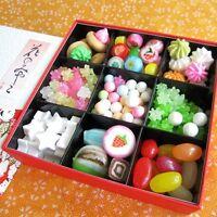 Japanese Konpeito&Candy Cute selection Box Kyoto 'HANANOMIYAKO' Gift Box