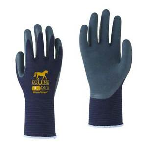 Towa Equine Navy Gloves - Stable Gloves- Equestrian Gloves- Two sizes available