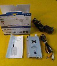 DIY Home & Office Surveillance w/ Wireless Radio AV Receiver 2.4G & Color Video