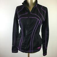 FILA SPORT Full Zip Up Long Sleeve Black Casual Jacket Women's Size XS