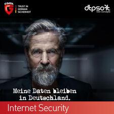 G Data Internet Security 3 PC 2019 Vollversion GDATA Upgrade 2018 De EU