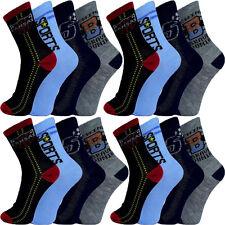 10 Paar Kinder Jungen Socken Gr. 24 25 26 27 28 29 30 31 32 33 34 35 36 37 38 39