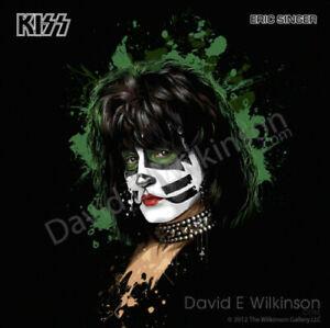 KISS Eric Singer Art Giclee' by David E. Wilkinson